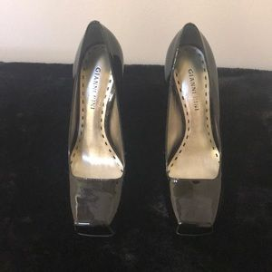 Gianni Bini | patent leather square toe 4.5 inch